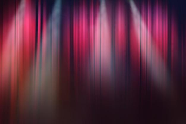 Unscharfe lichter auf der bühne, drama theatershow hintergrund