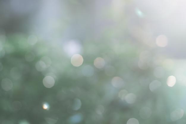 Unscharfer grüner naturhintergrund mit natürlichem licht mit kopienraum.