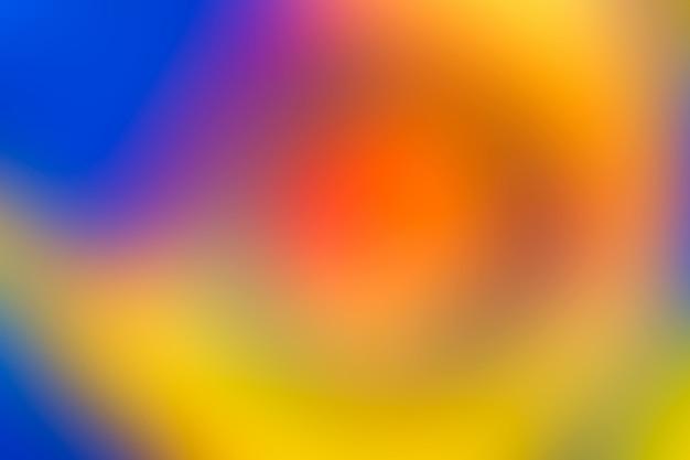Unscharfer hintergrund in den vibrierenden neonfarben.