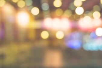 Unscharfer Hintergrund: Weinlesefilter Kunde in der Kaffeestube verwischen Hintergrund mit bokeh.