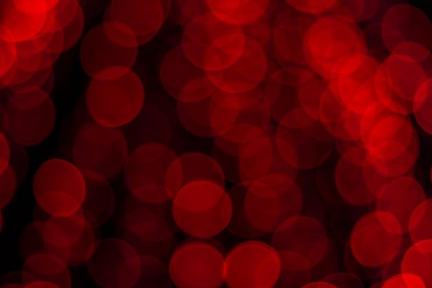 Unscharfes bild von festlichen lichtern