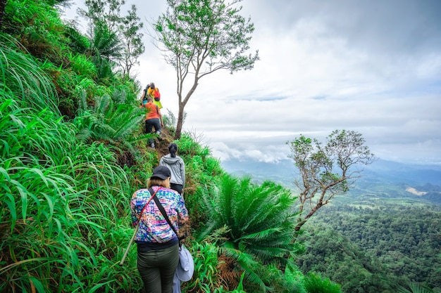 Unsere trekkingtour in umphang, thailand. einer der besten orte für trekking in thailand.