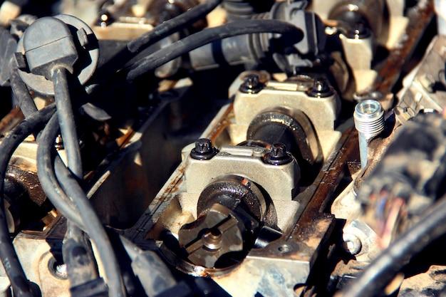 Unter der motorhaube
