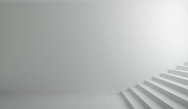 Unterirdische passage und treppe zum ausgang.