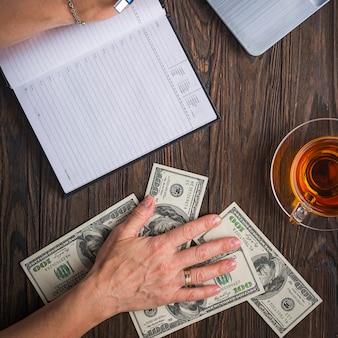 Unternehmenskonzept. büroarbeit, finanzen und kredit. bankwesen.
