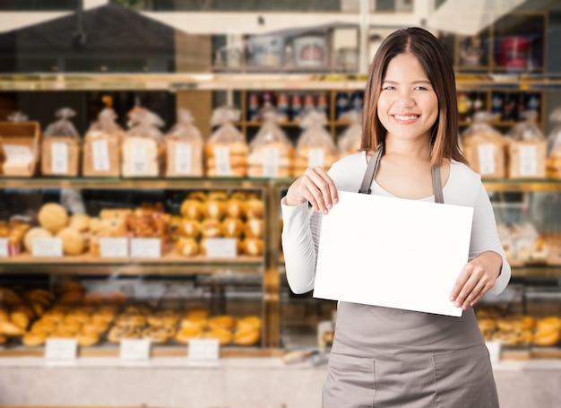 Unternehmerin mit bäckereihintergrund