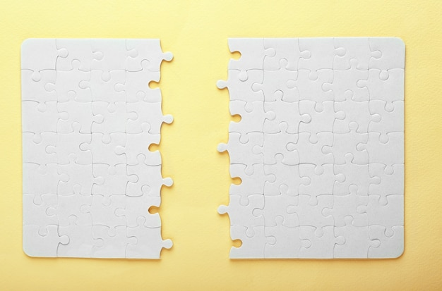 Unvollständiges puzzle