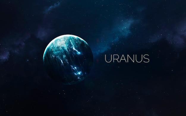 Uranus im weltraum