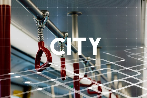 Urban living city lifestyle society grafik