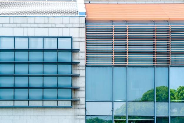 Urbane moderne architektur