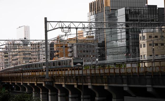 Urbaner stil der japanischen kultur