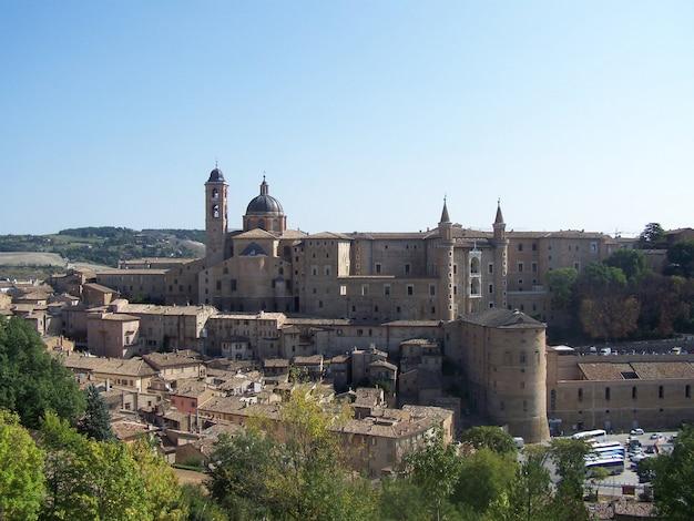 Urbino, italien