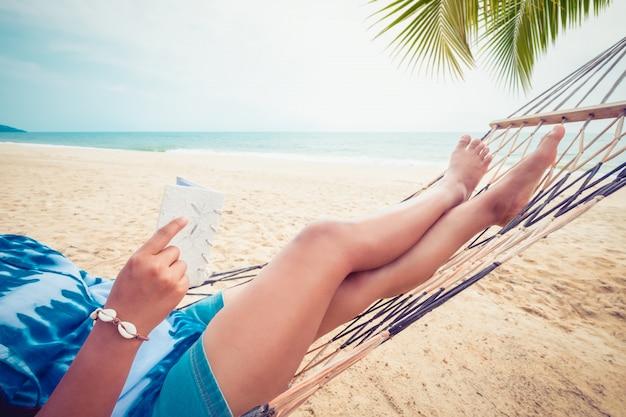 Urlaub im sommer Premium Fotos