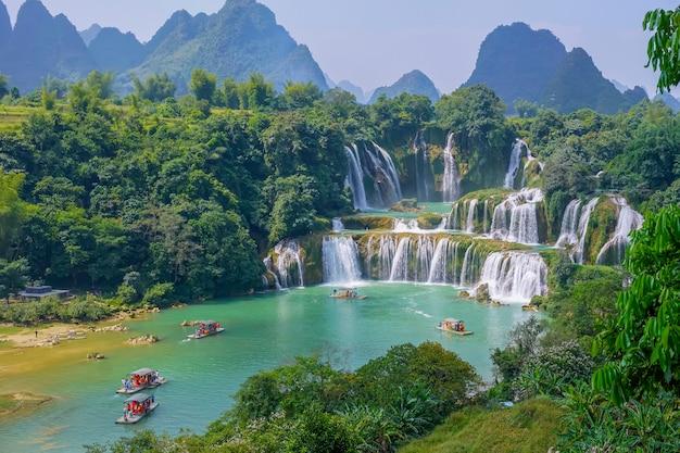 Urlaub stein vietnam frisch grün china