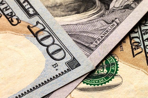 Us hundert dollarschein-geldhintergrund