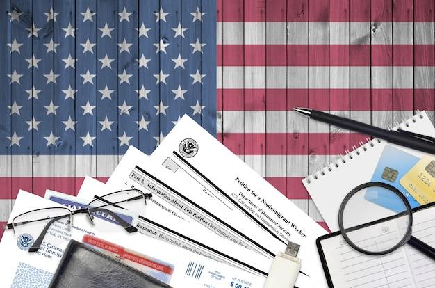 Uscis-formular i-129 petition für einen nichteinwanderer