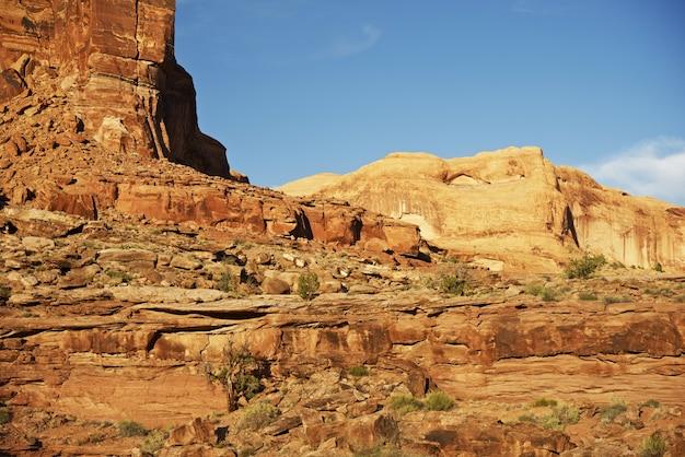 Utah felsige wüste