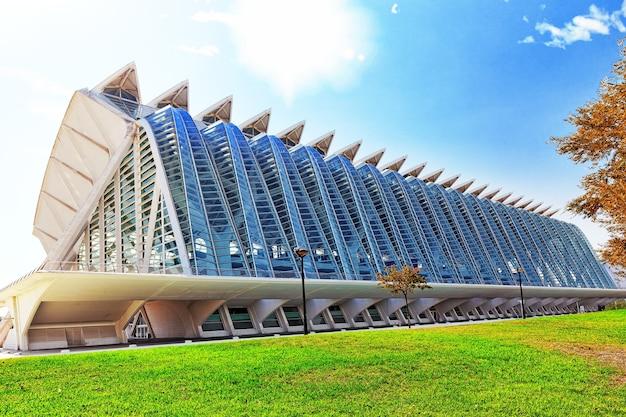 Valencia, spanien stadt der künste und wissenschaften