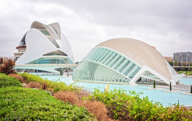 Valencia stadt der künste und wissenschaften