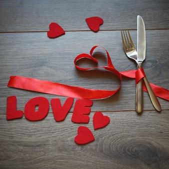 Valentinstag einstellung zum mittagessen