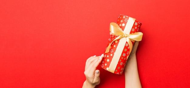 Valentinstag fröhlich in der weihnachtsdekoration, kopieren sie raum für design.