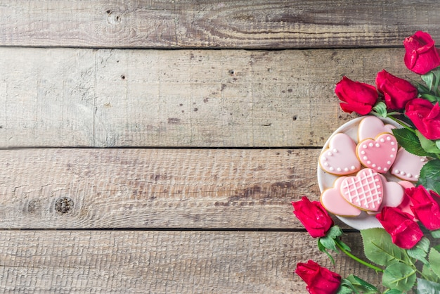 Valentinstag gruß hintergrund