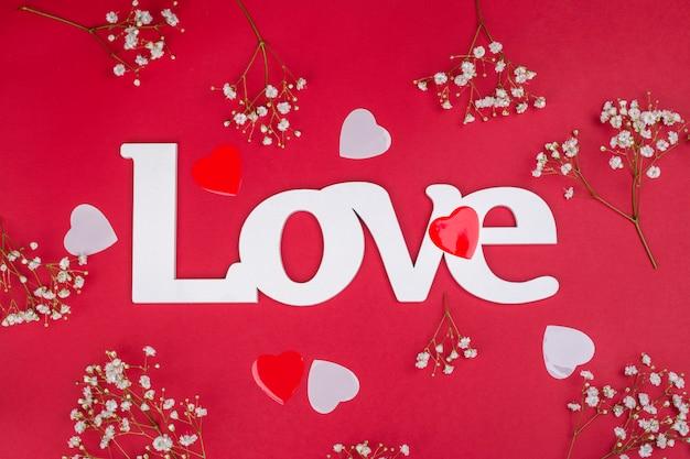 Valentinstag grußkarte