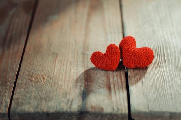Valentinstag grußkartengeschenk. liebesherz simbol