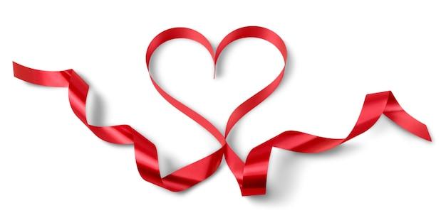 Valentinstag, herz vom band
