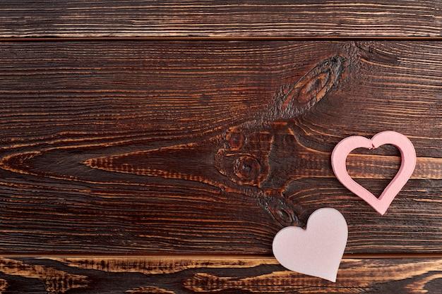 Valentinstag hintergrund mit dekorativen herzen.