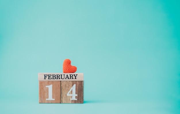 Valentinstag idee hintergrund konzept.
