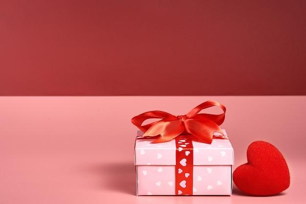 Valentinstag. leerer platz für ihren text. elegante abbildung.