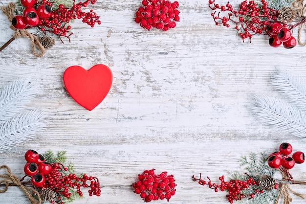 Valentinstag. leerer platz für ihren text. weißer hintergrund. elegante abbildung.