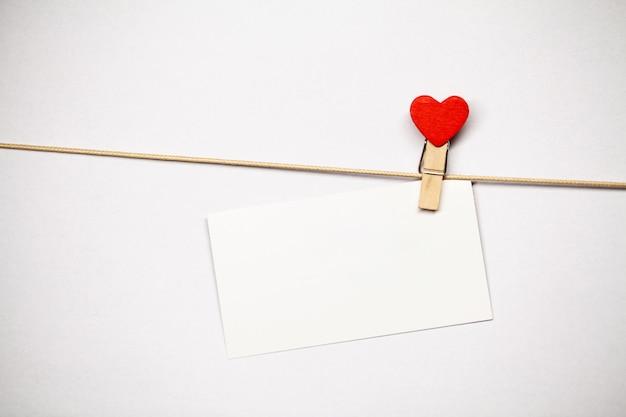 Valentinstag . leerer platz