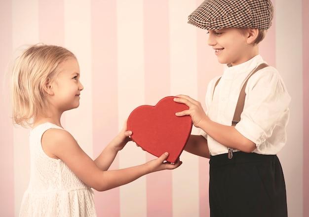 Valentinstag mit großer liebe