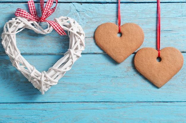 Valentinstag mit herzen