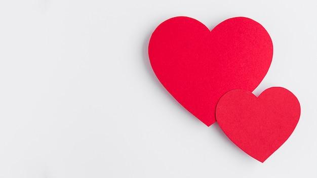 Valentinstag mit kopierraumkonzept