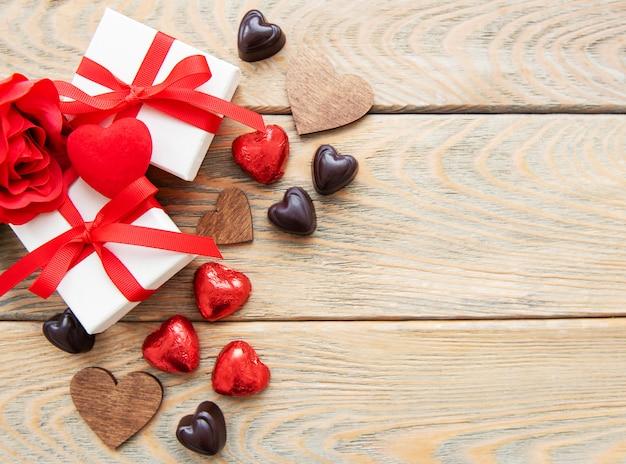 Valentinstag romantisch
