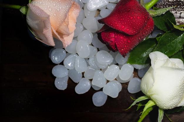 Valentinstag rose love für februar