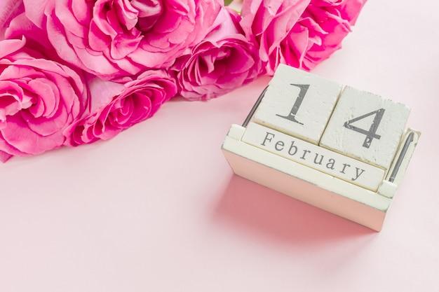 Valentinstag und feiertagskonzept