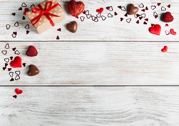 Valentinstag urlaub hintergrund