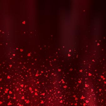Valentinstaghintergrund mit herzdesign