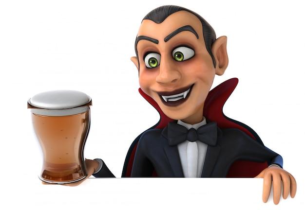 Vampir 3d charakter
