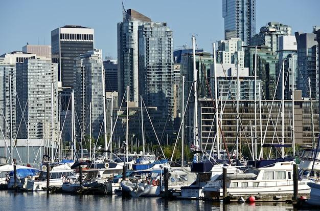 Vancouver innenstadt übersehen