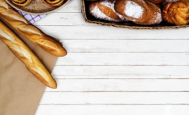 Variation der selbst gemachten gebackenen gebäckküche