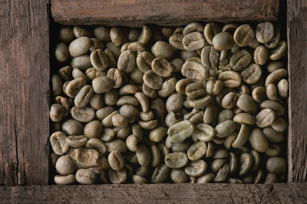 Variation von kaffeebohnen