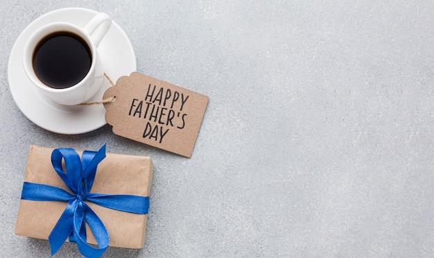 Vatertag mit geschenkbox