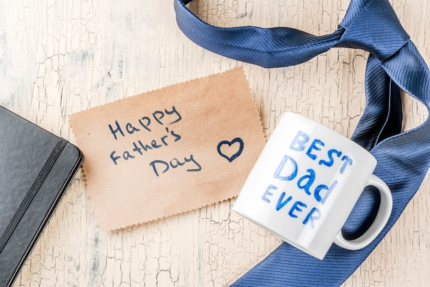 Vatertagsgeschenk-konzept