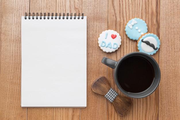 Vatertagsveranstaltung mit kaffee