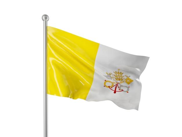 Vatikanische flagge